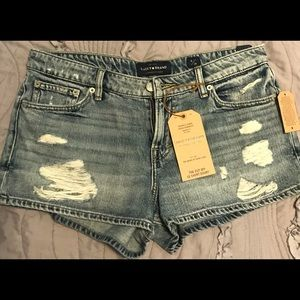 Lucky Brand Jean Shorts 6/28